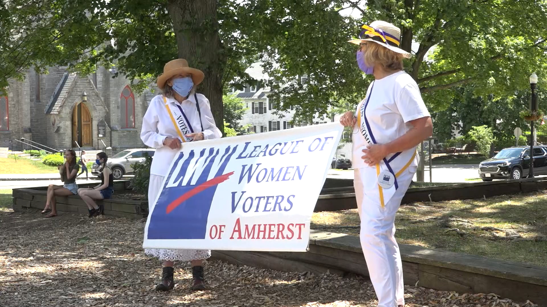 Amherst League of Women Voters Marks 100 Years of the 19th Amendment