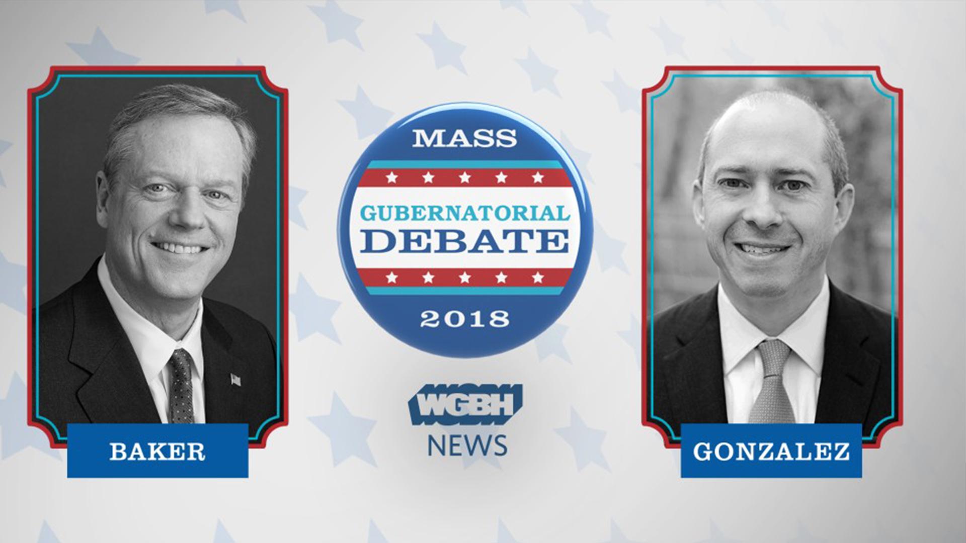 2018 Massachusetts Gubernatorial Debate with Charlie Baker and Jay Gonzalez