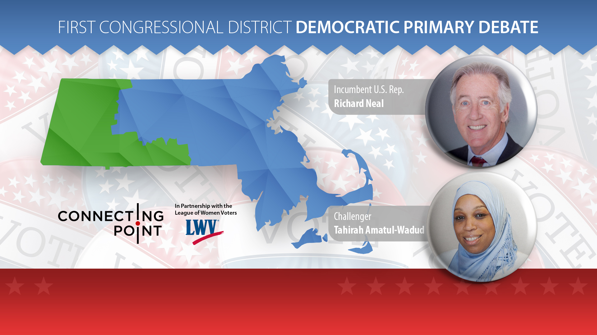 Mass. 1st Congressional District Democratic Primary Debate