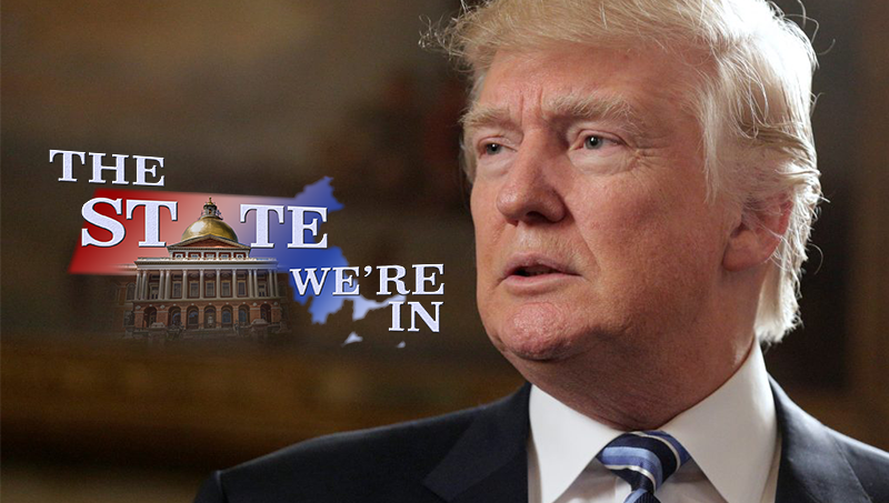 "Political experts Jim Polito, Anthony Cignoli, and Jerold Duquette join Connecting Point: The State We're In host Carrie Saldo to deliver a ""presidential report card"" on Year One of the Trump Administration."