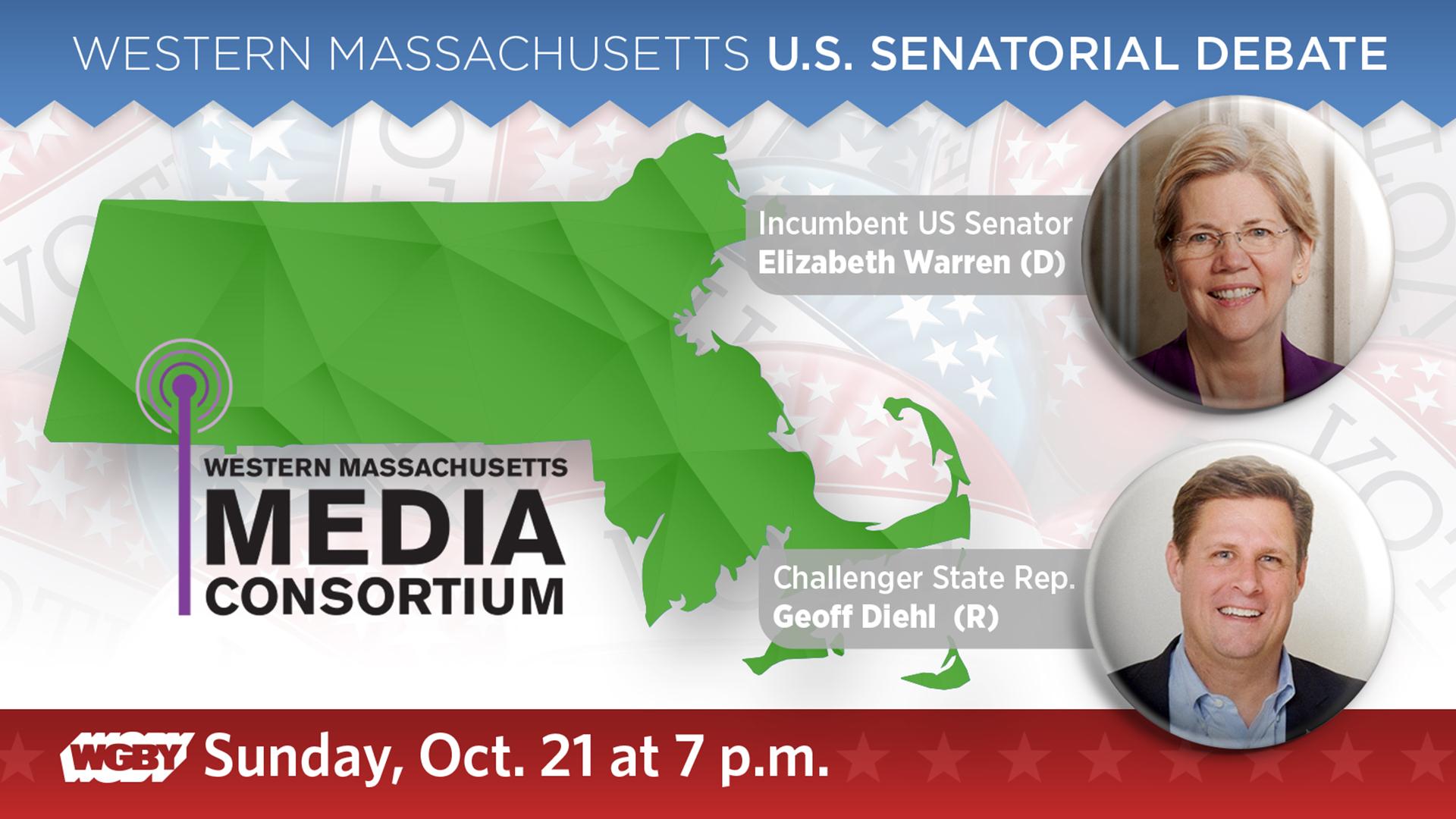 2018 Senatorial Debate with Elizabeth Warren and Geoff Diehl