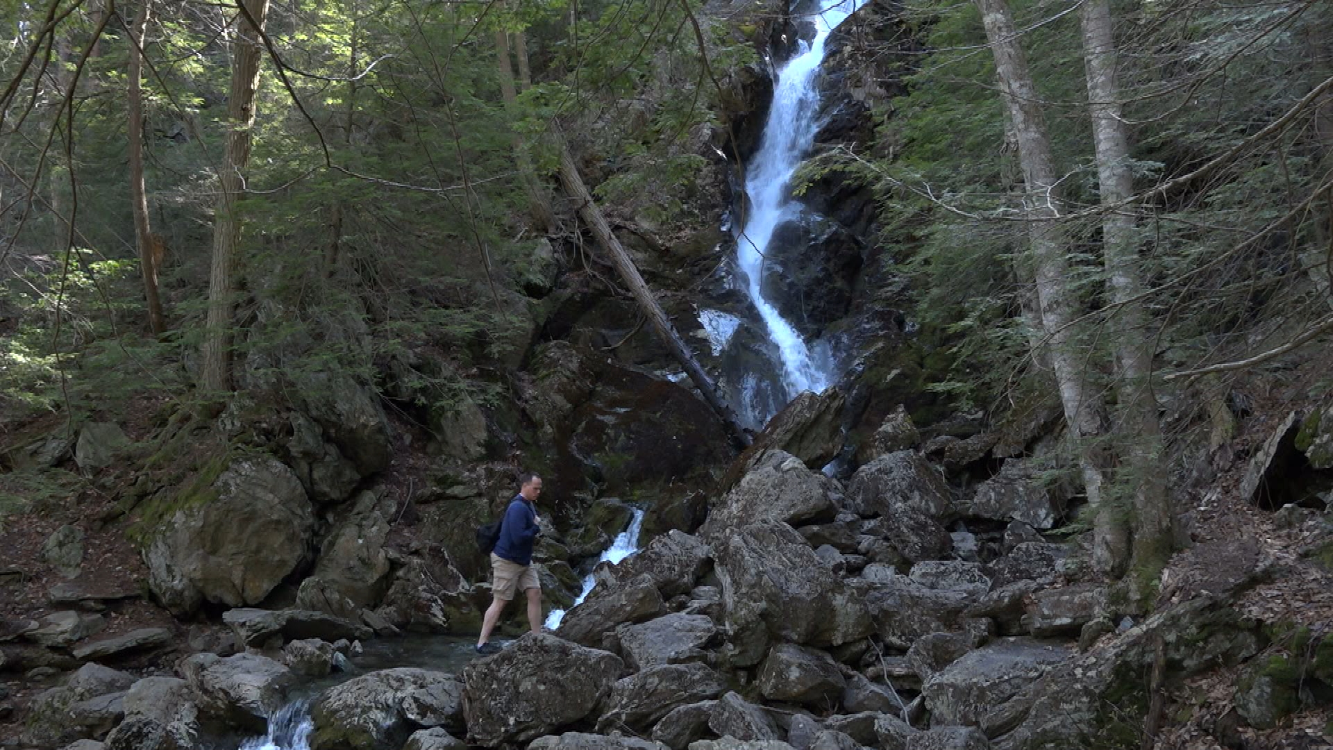 WATCH: Brian Sullivan heads to the hills for a hike in the southern Berkshires, where he meets several other hikers enjoying the great outdoors.