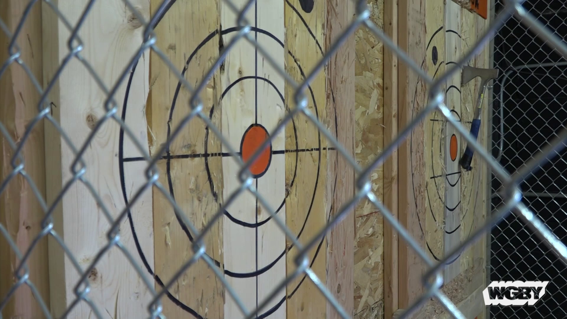 After seeing the sport in Montreal, Anneliese Townsend opened Agawam Axe House to bring axe throwing to residents of western Massachusetts.