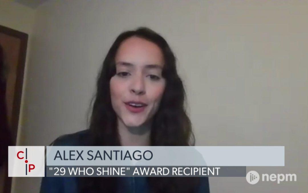 Alex Santiago: First HCC Latinx Studies Graduate
