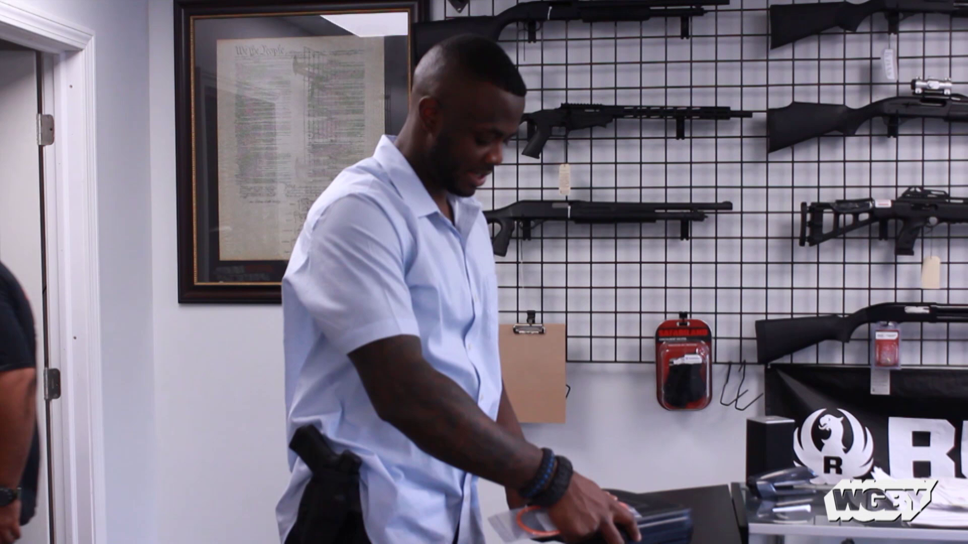 U.S. Army veteran Prince Taylor's passion for firearms and desire to be a business owner led to Armor Bearer Sports, Springfield, MA's first firearms store.