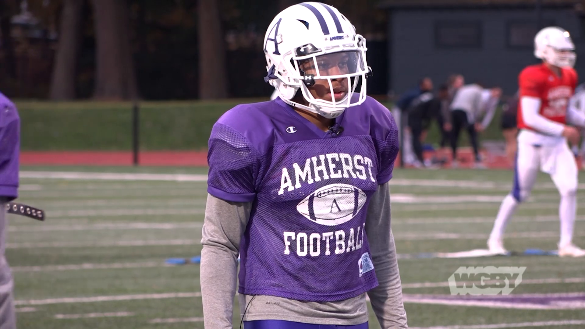 Amherst College Football Captain Avery Saffold, one of only seven openly gay or bisexual college football players, shares his journey to acceptance.