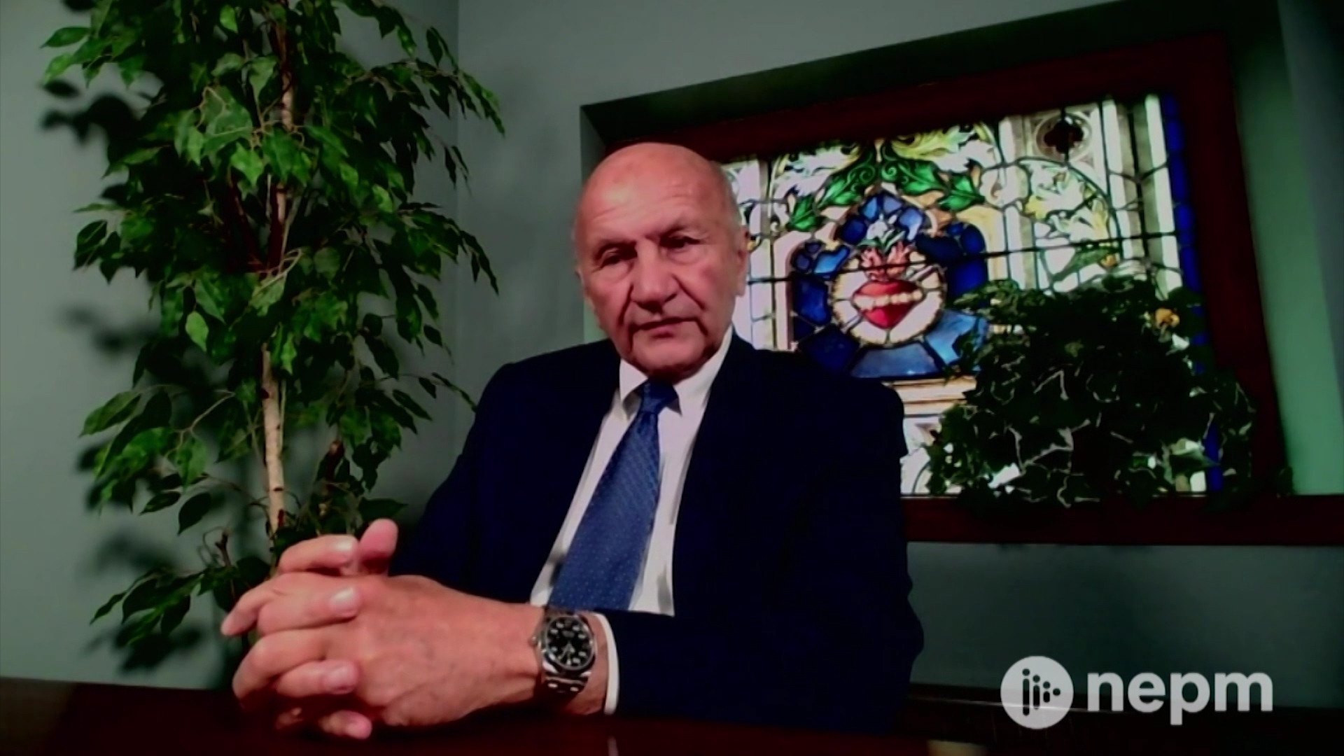 Retired Judge Peter Velis discusses his findings after a year-long investigation into sexual abuse allegations against Bishop Christopher Weldon.