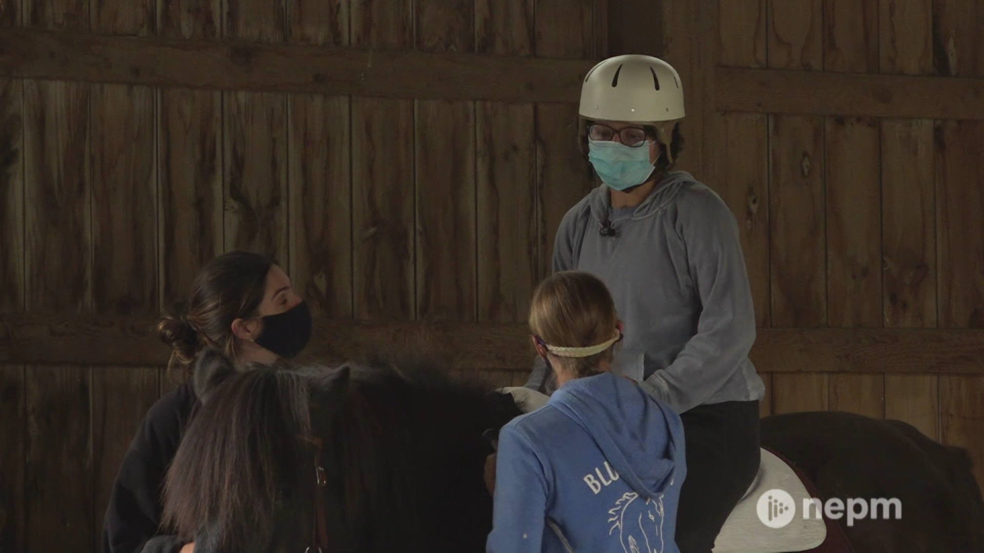 Blue Rider Stables Therapeutic Riding Helps Khali Zabian on Road to Recovery