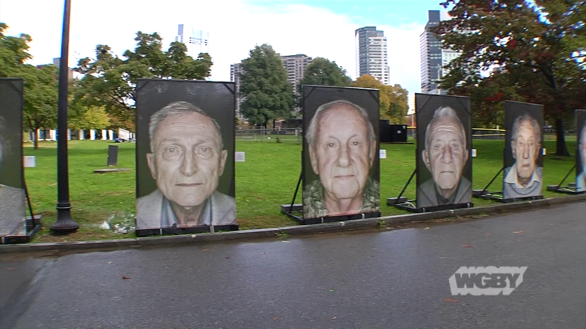 Italian-German photographer Luigi Toscano's Holocaust memorial on the Boston Common tells the harrowing stories of Holocaust survivors through public art.