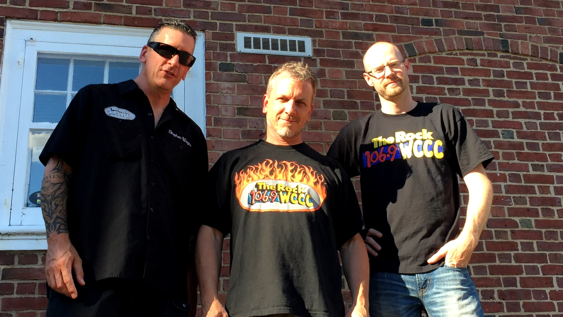 """Turn back the stereo dial and revisit Hartford's """"The Rock"""" 106.9 FM WCCC, the go-to station for hard rock music fans in Western Mass and Connecticut."""