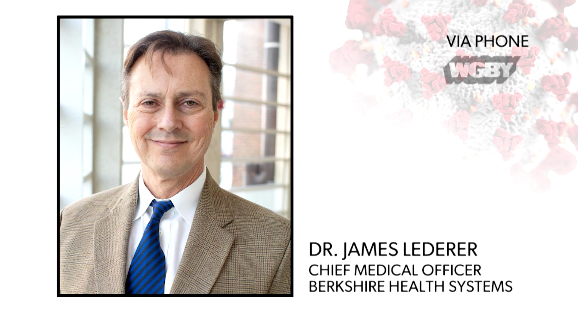 WATCH: Berkshire Health Systems' Dr. James Lederer provides an update on the declining number of COVID-19 cases in the region.