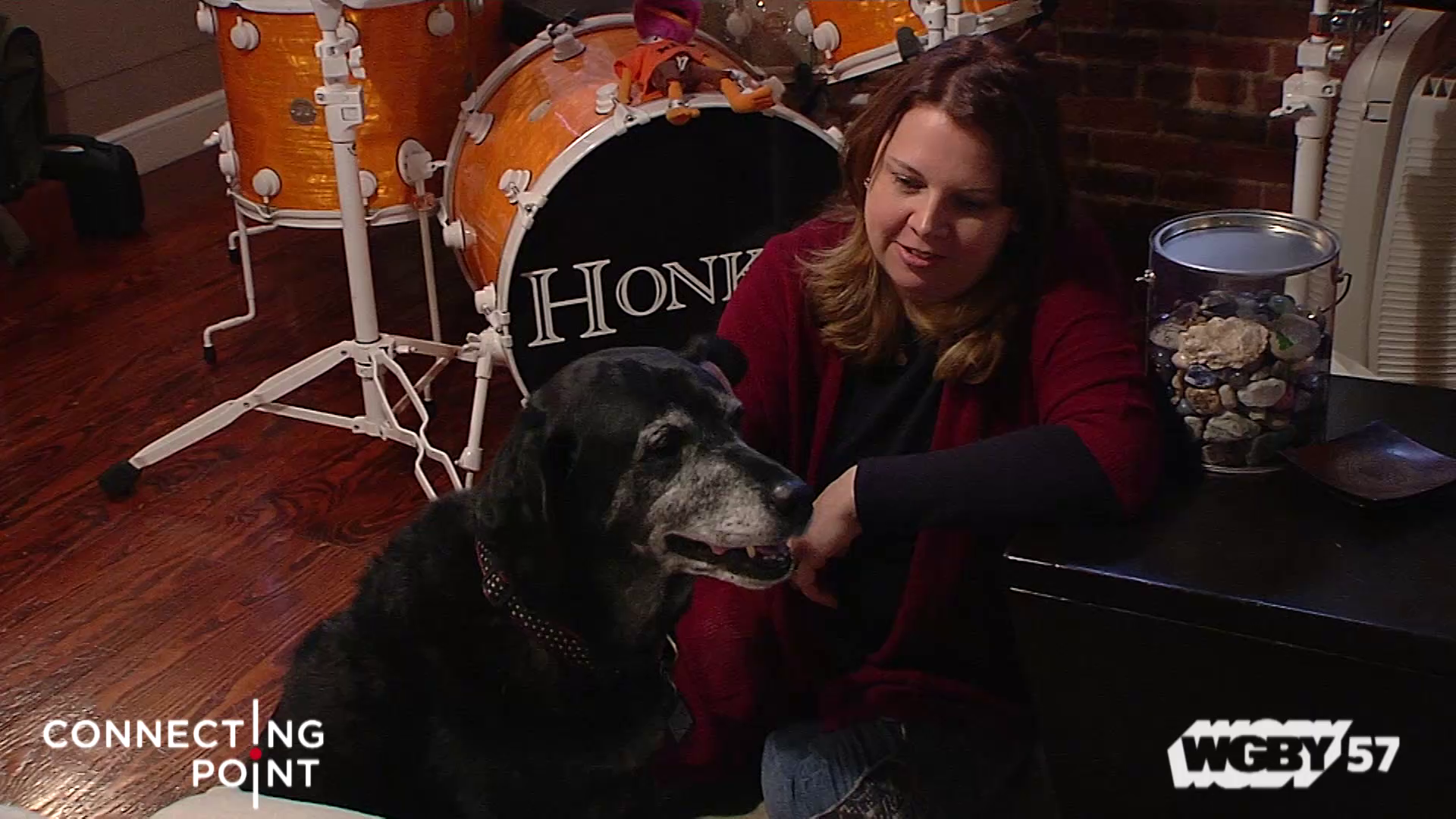 They say a dog is a person's best friend, and for Marty Harris of Boston, that couldn't be more true. Adele is the name of the dog in question, and one of the first cardiac alert dogs in the country. Connecting Point's Tina Martin has more about this special service dog that is quite literally a life saver.