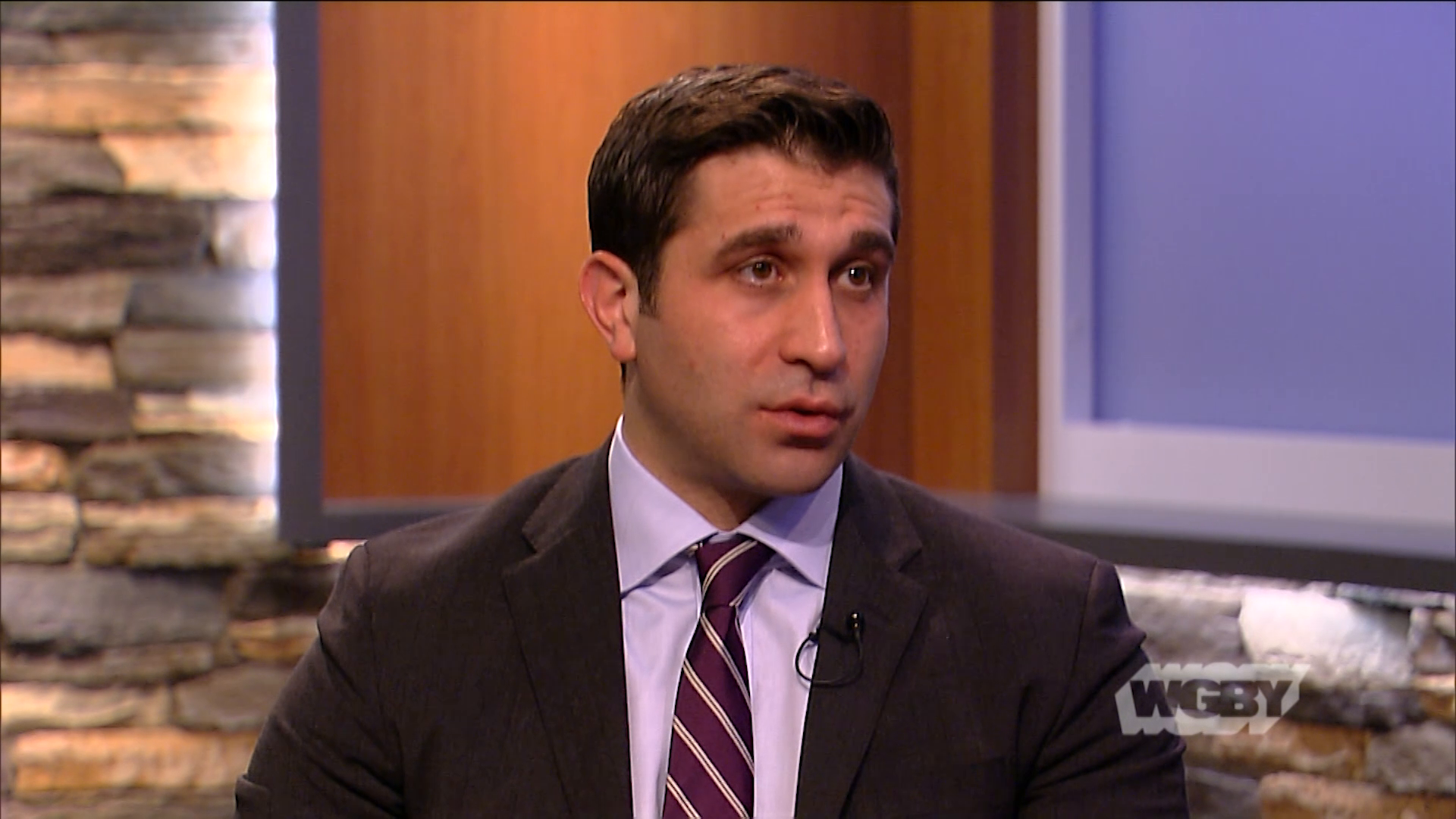 Hampden County District Attorney Anthony Gulluni discusses the public's response to his office's new clergy sexual abuse hotline.