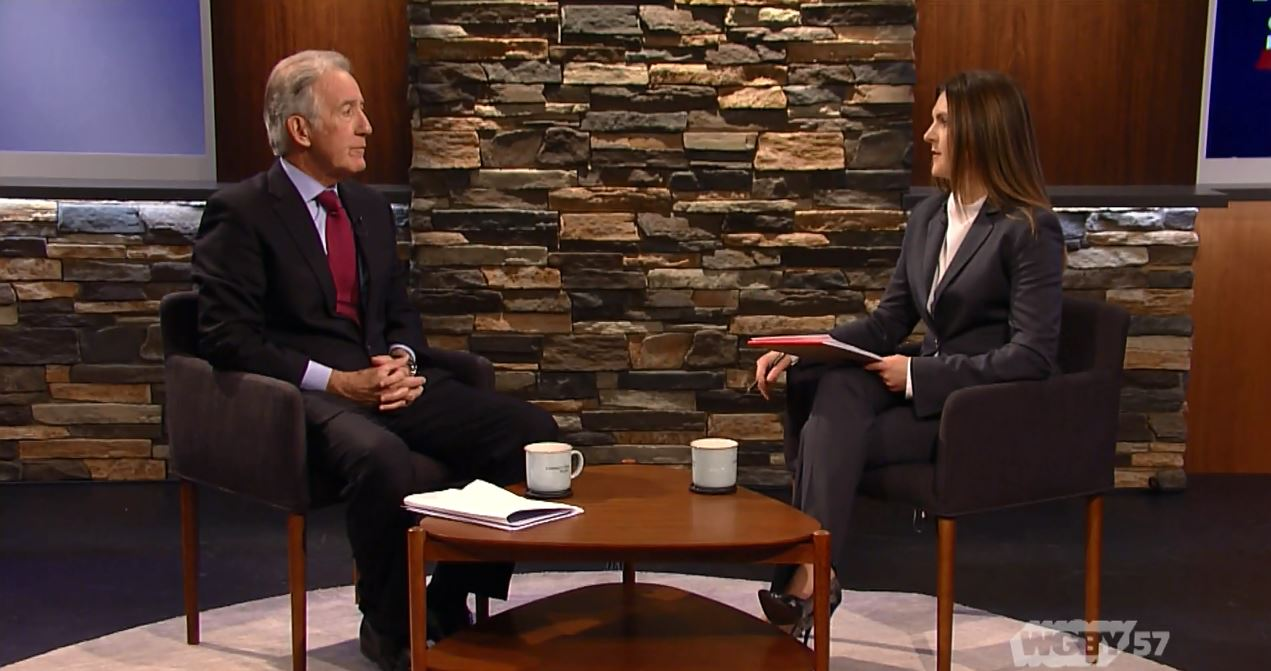 As the nation debates the recently signed $1.3 trillion federal spending budget and the weekend's March for Our Lives protests, Connecting Point's Carrie Saldo sits down with U.S. Congressman Richard Neal (D-MA) to discuss the impact of these events, the 2020 Census, and more on western New England.