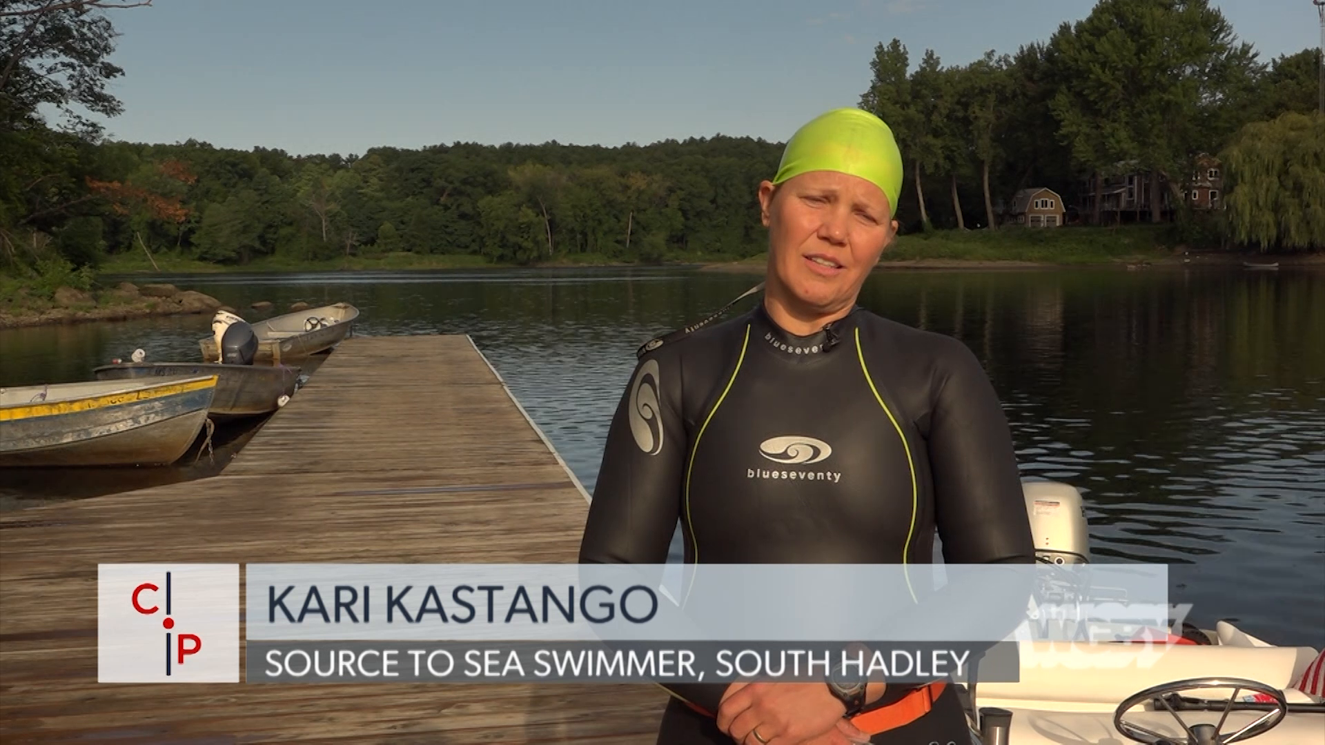 To raise awareness about a natural resource right in our backyards, Kari Kastango is attempting to swim the entire length of the Connecticut River.