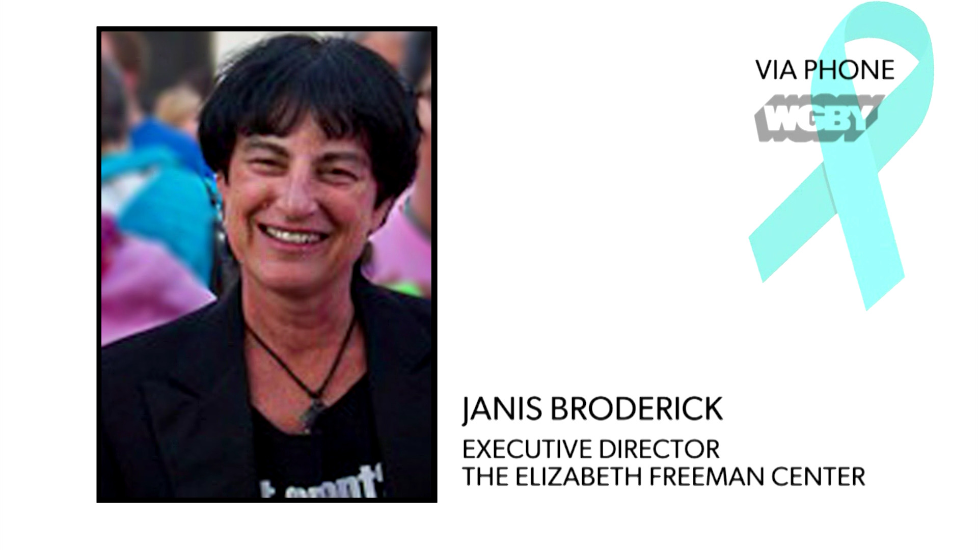 WATCH: Janis Broderick explains how the Elizabeth Freeman Center in the Berkshires is continuing to assist victims of domestic violence during the pandemic.