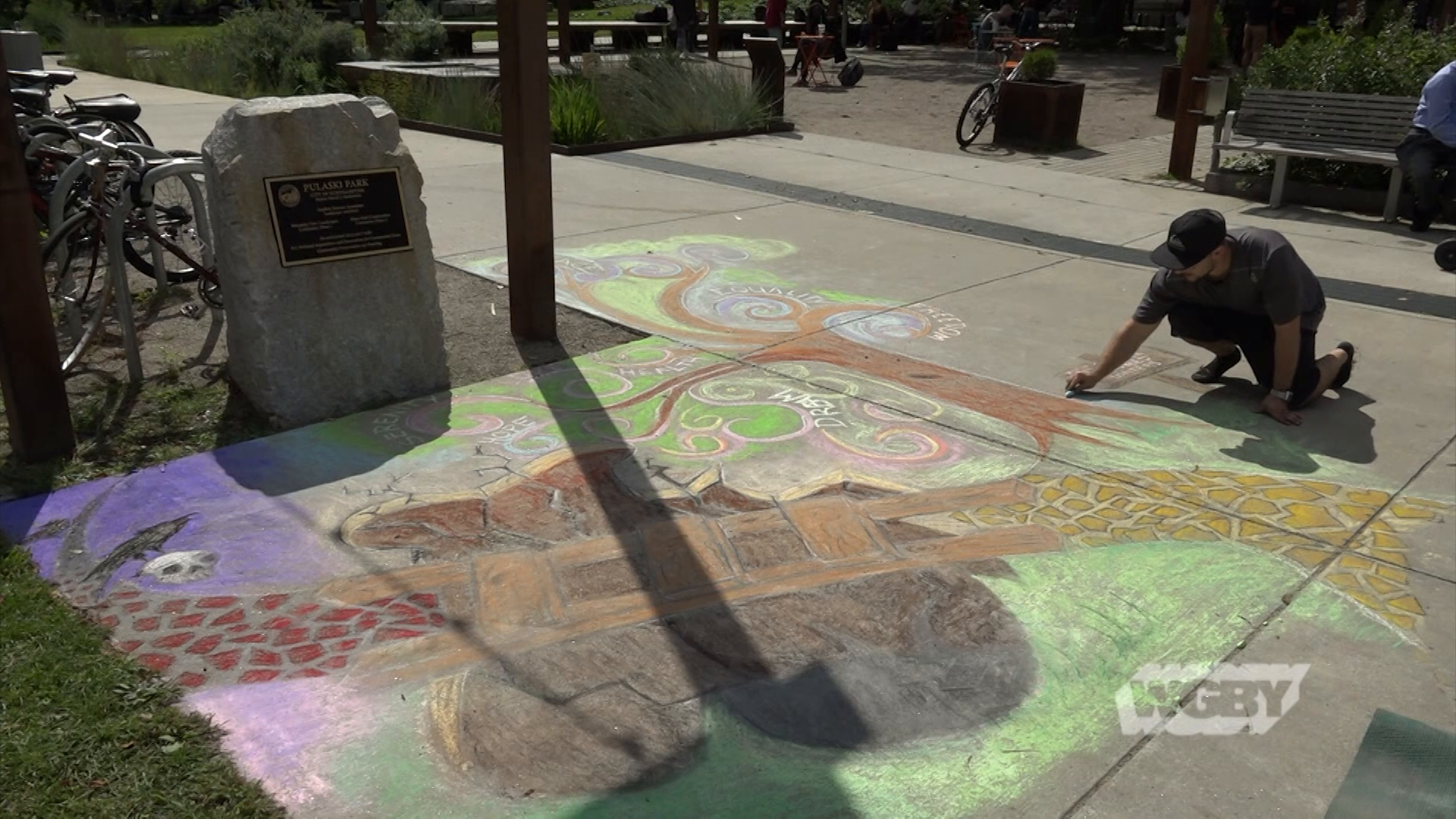Visit the 10th Annual Downtown Northampton Chalk Art Festival and discover the inspiration behind the works dotting sidewalks in the Paradise City.