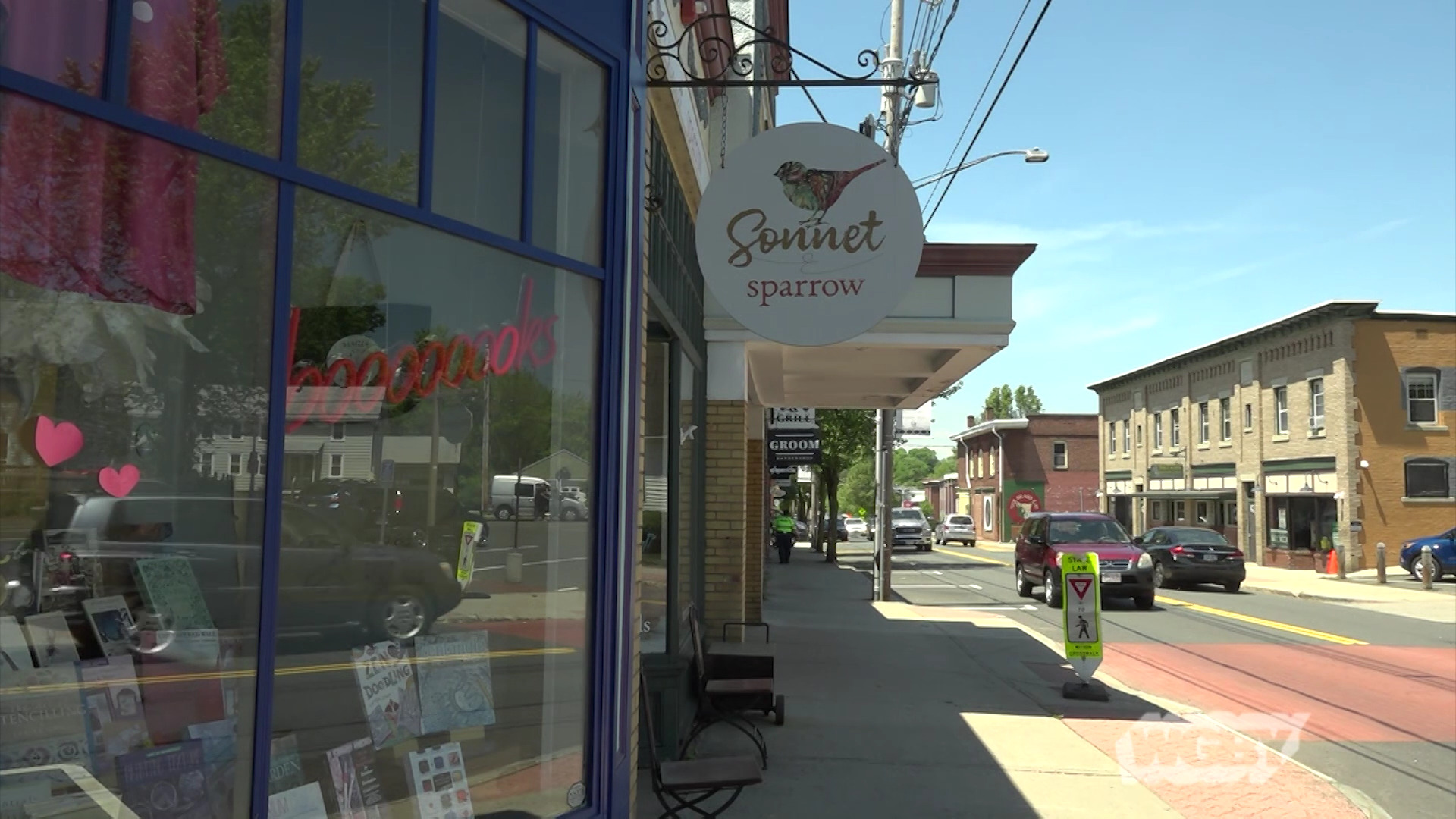 WATCH: Visit downtown Easthampton to learn how the city's cultural district is planning to reopen after shutting down for two months to combat COVID-19.