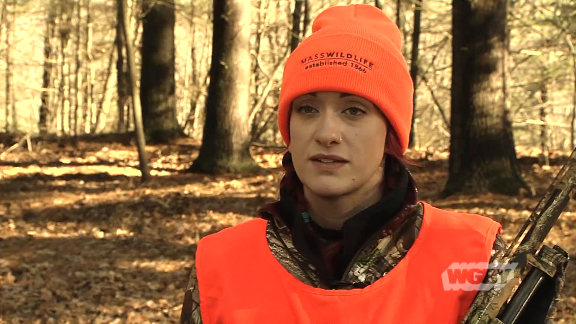 Massachusetts has about 70,000 licensed hunters, and the marjority are men. But, there's a new effort to recruit more female hunters in the state.