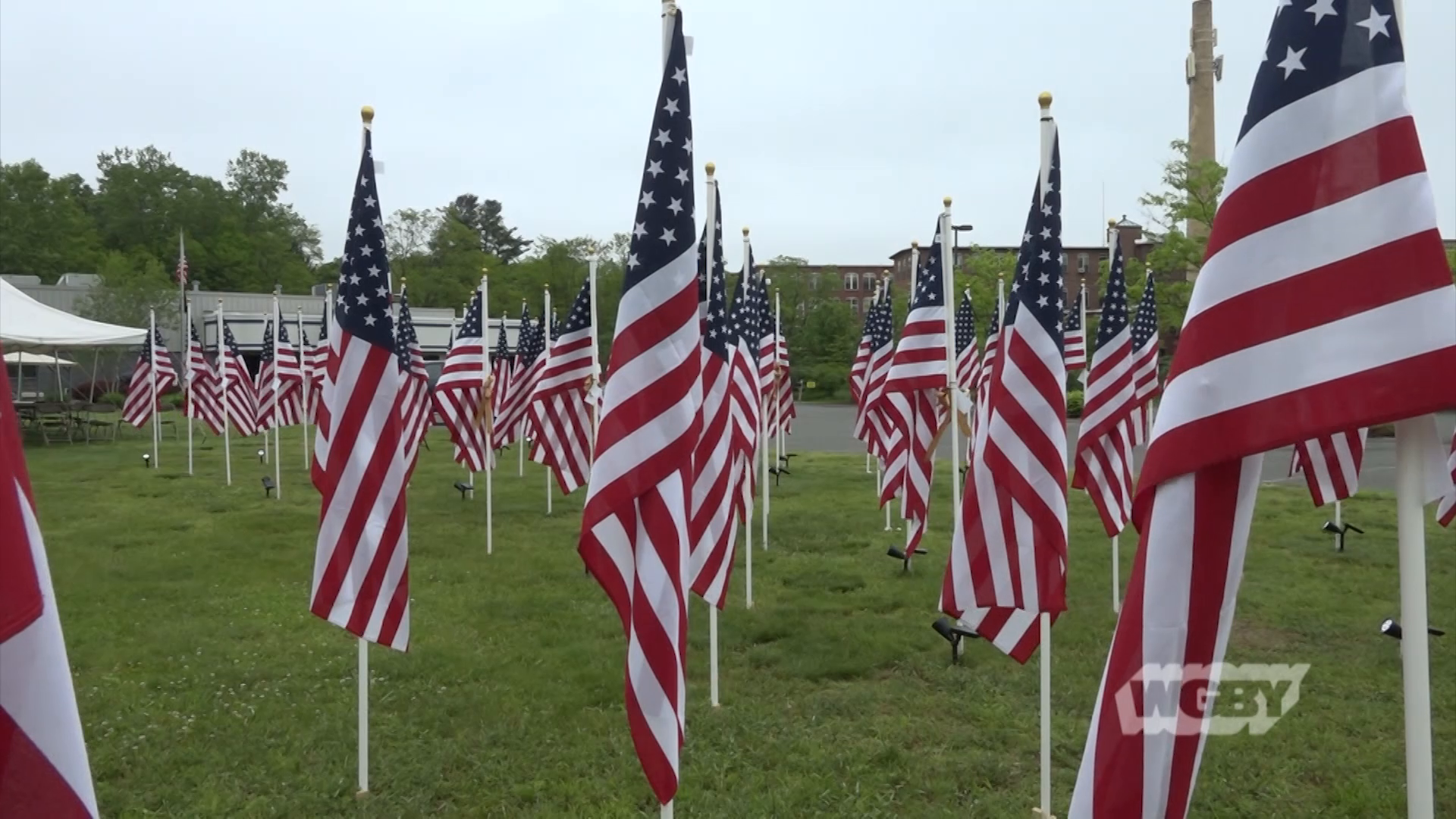 Visit the Field of Honor, a flag installation in honor of those who've fought to protect the nation sponsored by the Northampton Lodge of Elks.