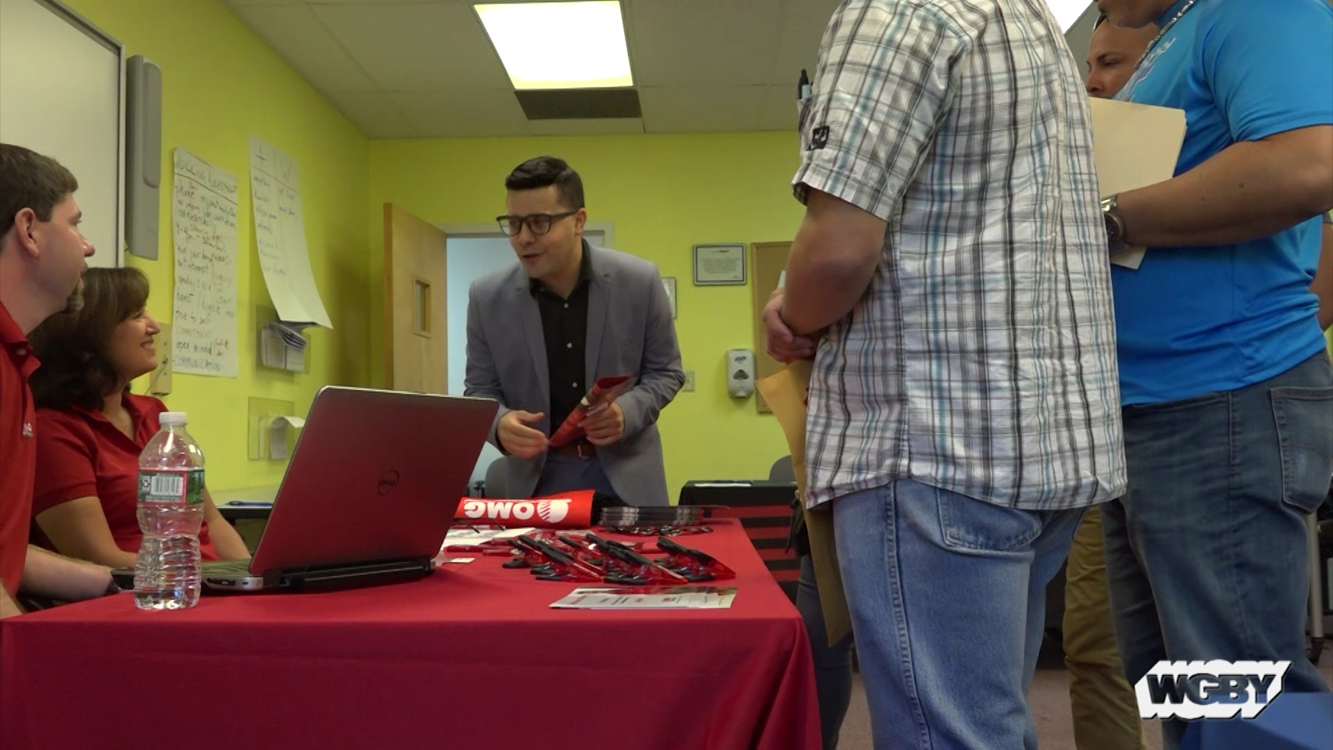 Thanks to funding from an national emergency grant, Hurricane Maria evacuees can access resources, like job fairs, to help them enter the workforce in Mass.