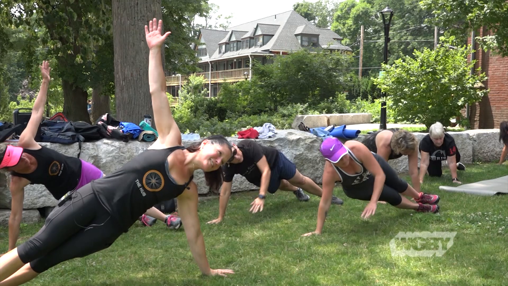 Northampton is motivating residents to get outside and get active with free fitness classes in the city's parks this summer.