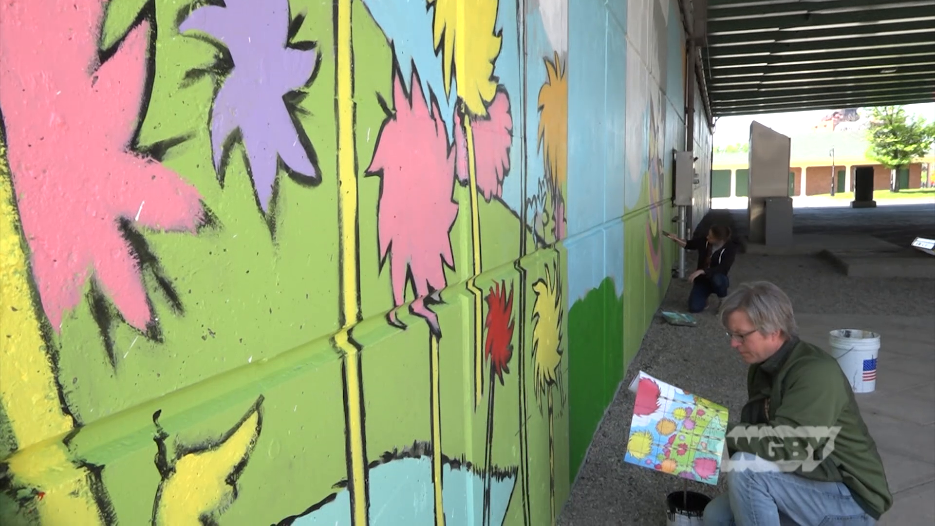 Take a tour of the larger-than-life murals dotting downtown Springfield as part of Fresh Paint Springfield, western Mass's first annual mural festival.