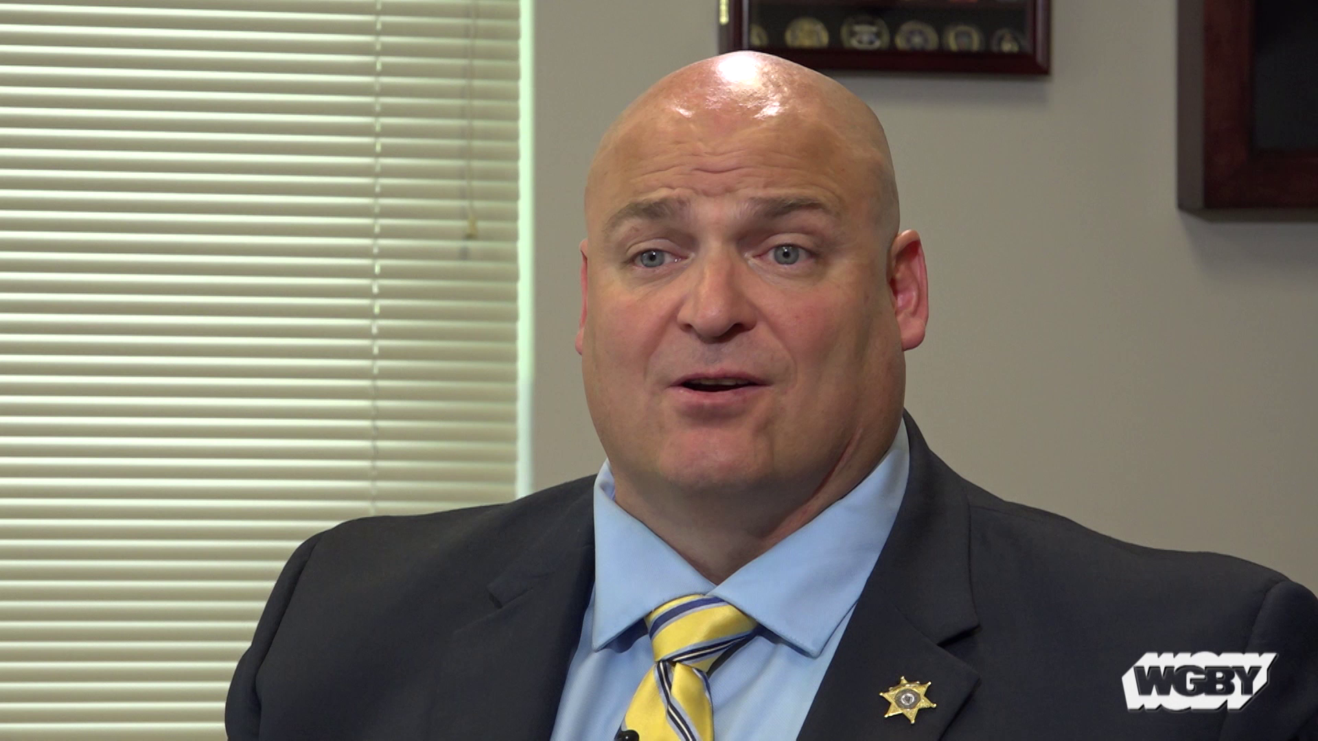 """Hampden County Sheriff Nick Cocchi has made opening two new opioid treatment centers a priority for his department. He joins """"Connecting Point"""" to discuss how the Stonybrook Stabilization and Treatment Centers opening in Ludlow and Springfield this August will help patients overcome opioid addiction."""