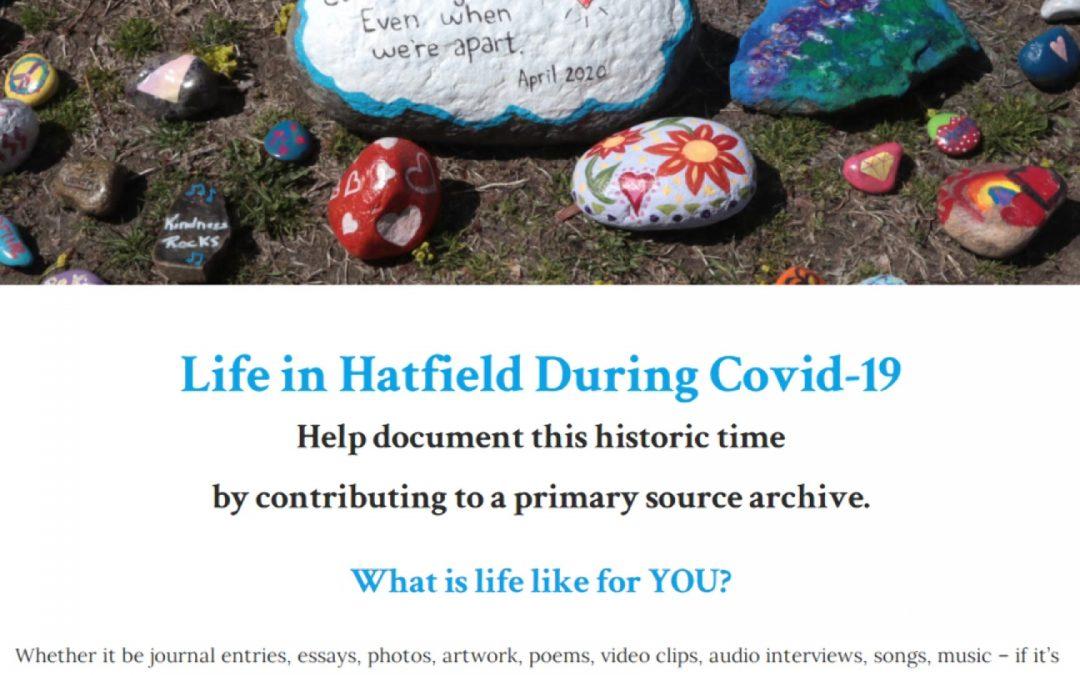 Hatfield Historical Society's COVID Project