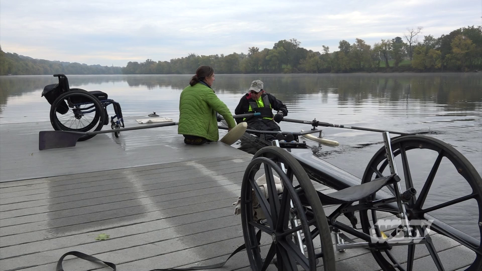 Head to the banks of the Connecticut River where Holyoke Rows founder Stephanie Moore offers an adapative rowing program for people with disabilities.