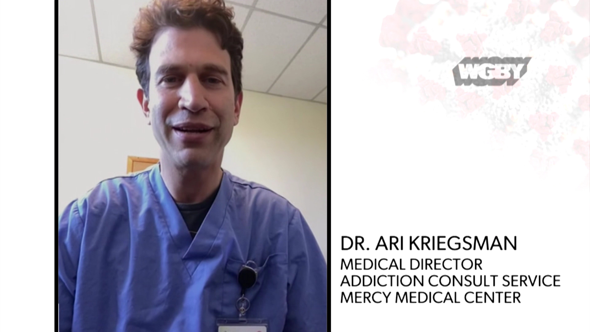 WATCH: Mercy Medical Center's Dr. Ari Kriegsman talks about the impact of COVID-10 on opioid addiction and treating addiction during the pandemic.