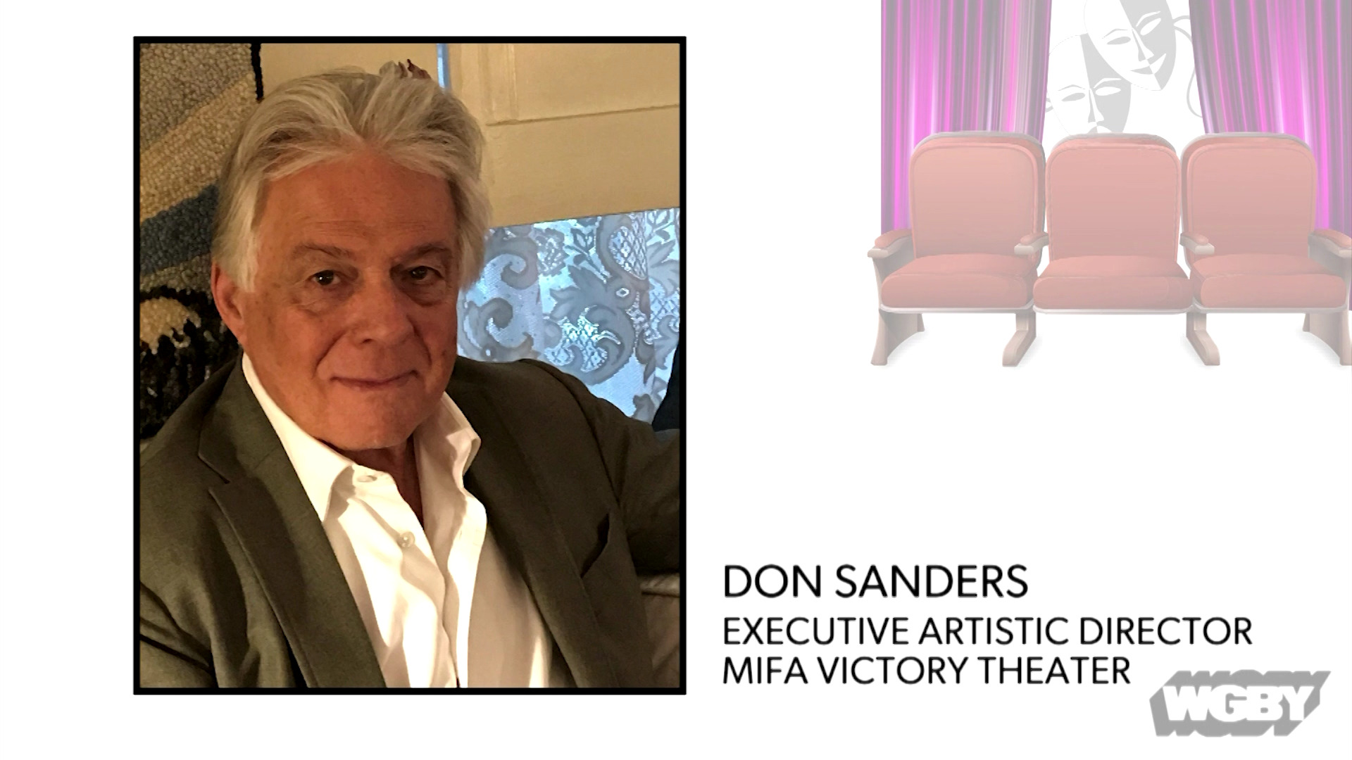 WATCH: MIFA Victory Theatre's Don Sanders talks about the challenges facing the performing arts during COVID-19 and the future of live performances.