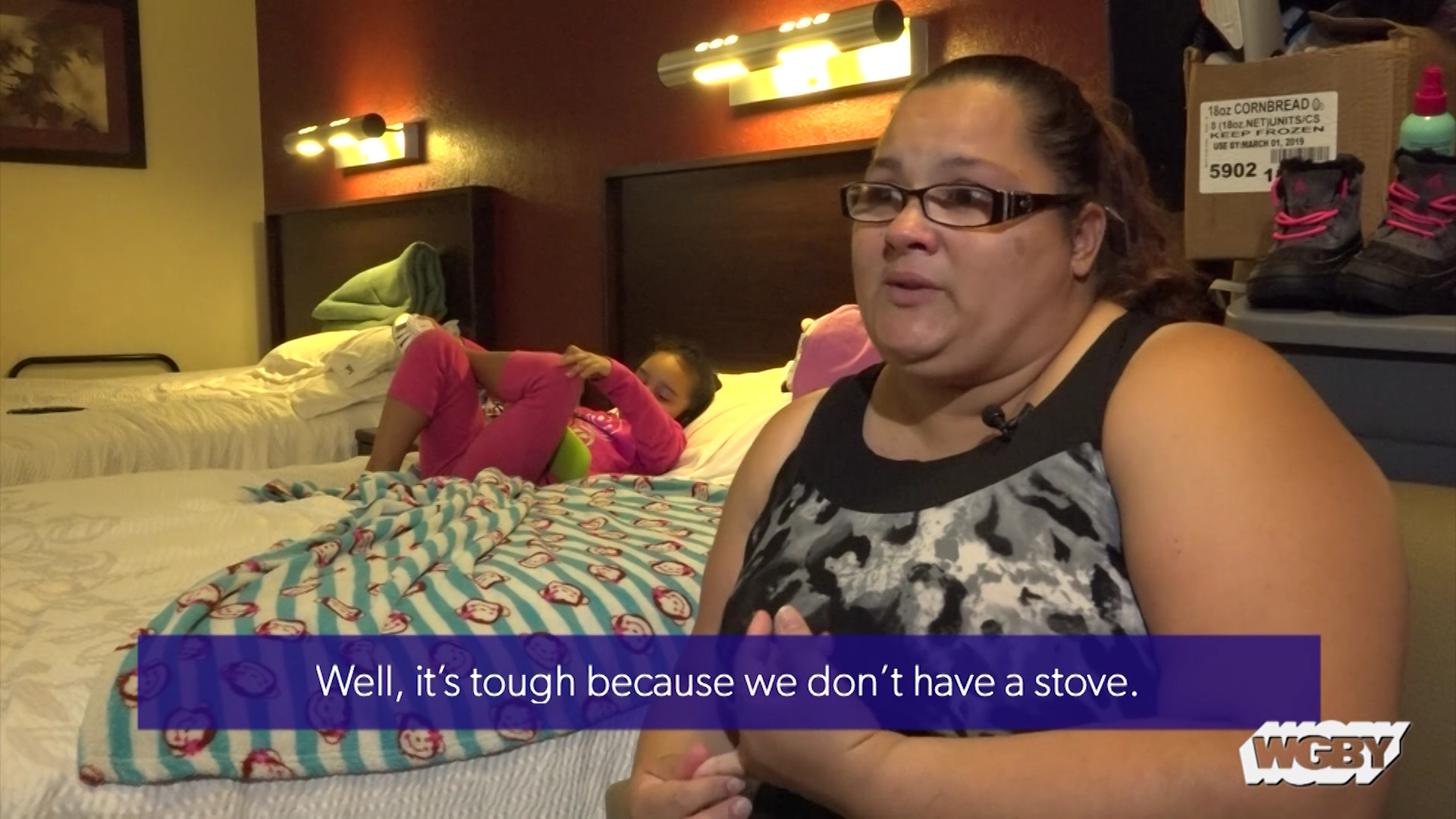 Meet a Springfield, MA family displaced by Hurricane Maria and see how they cope with living in an unfamiliar place where they do not know anyone.