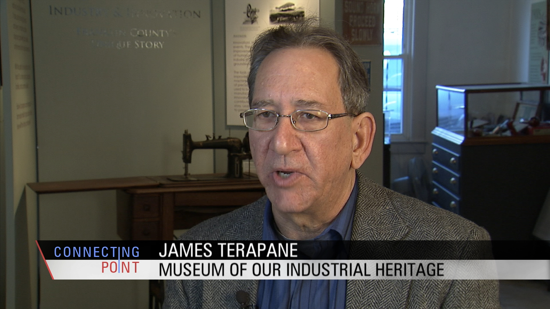 Museum of Our Industrial Heritage director James Terapane