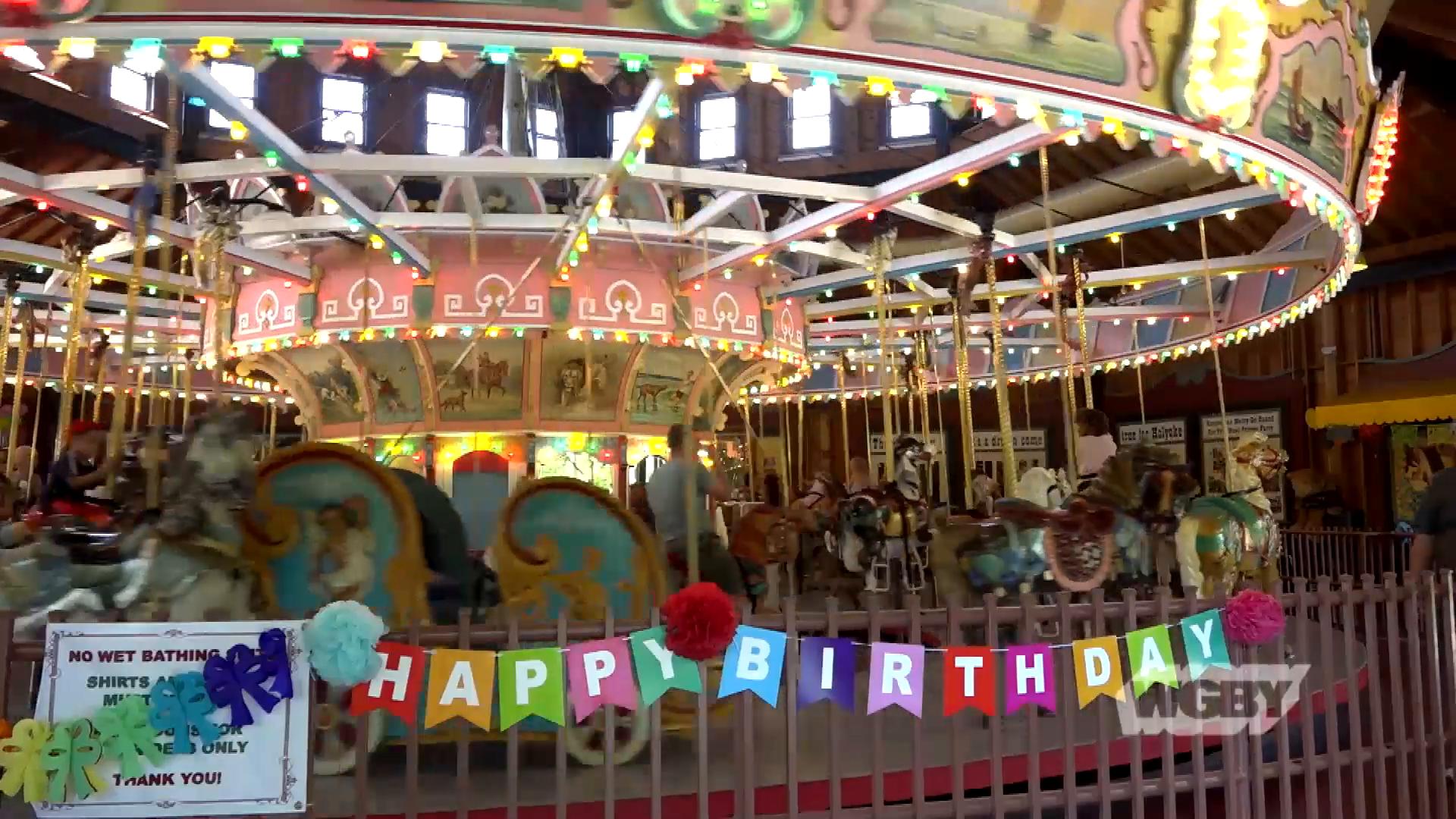 Iconic Holyoke Merry-Go-Round Celebrates 90th Birthday