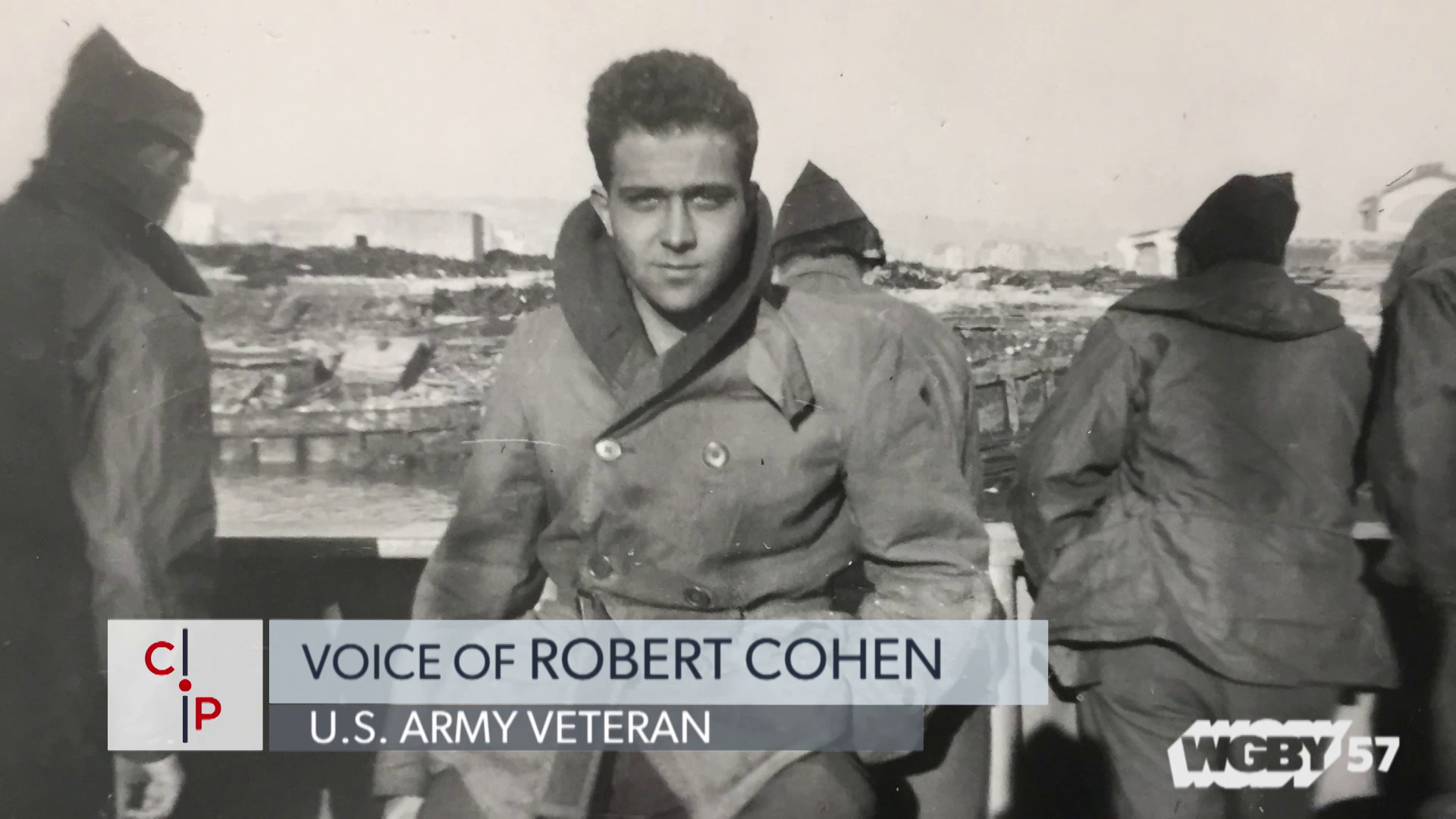Jewish American WWII Vet Robert Cohen Served in the European Theater