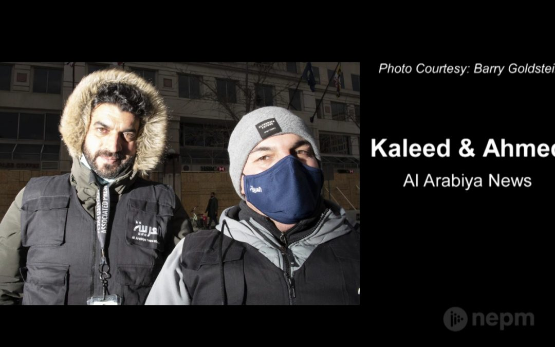 Kaleed & Ahmed from Al Arabiya News