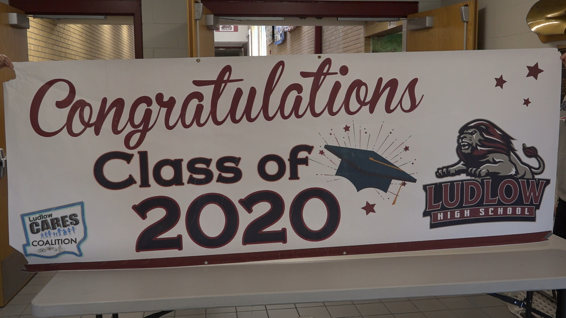 With schools closed, schools are coming up with creative ways to honor graduates, like holding a town-wide parade to honor the Ludlow High Class of 2020.