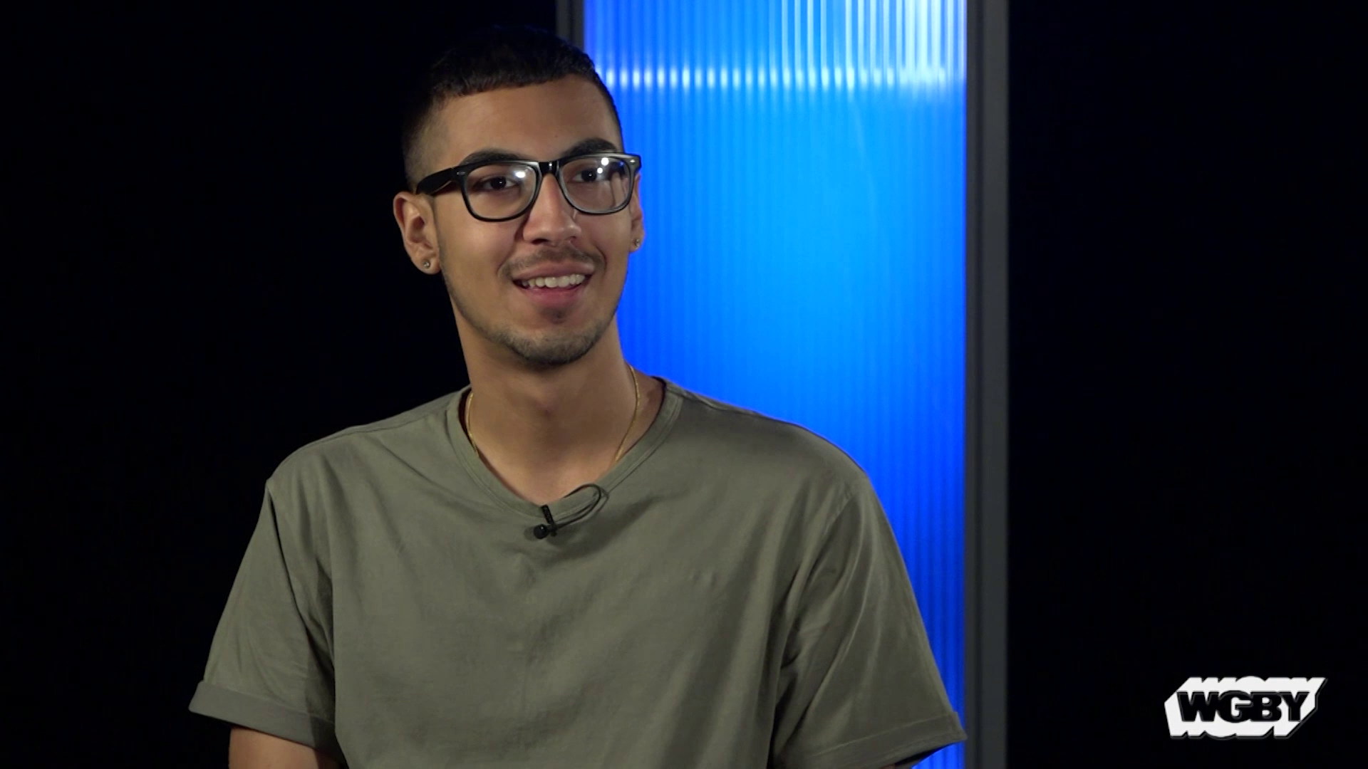This summer, WGBY Latino Youth Media Institute Intern Joel Rivera helped facilitate workshops that teach students how to tell their own stories.