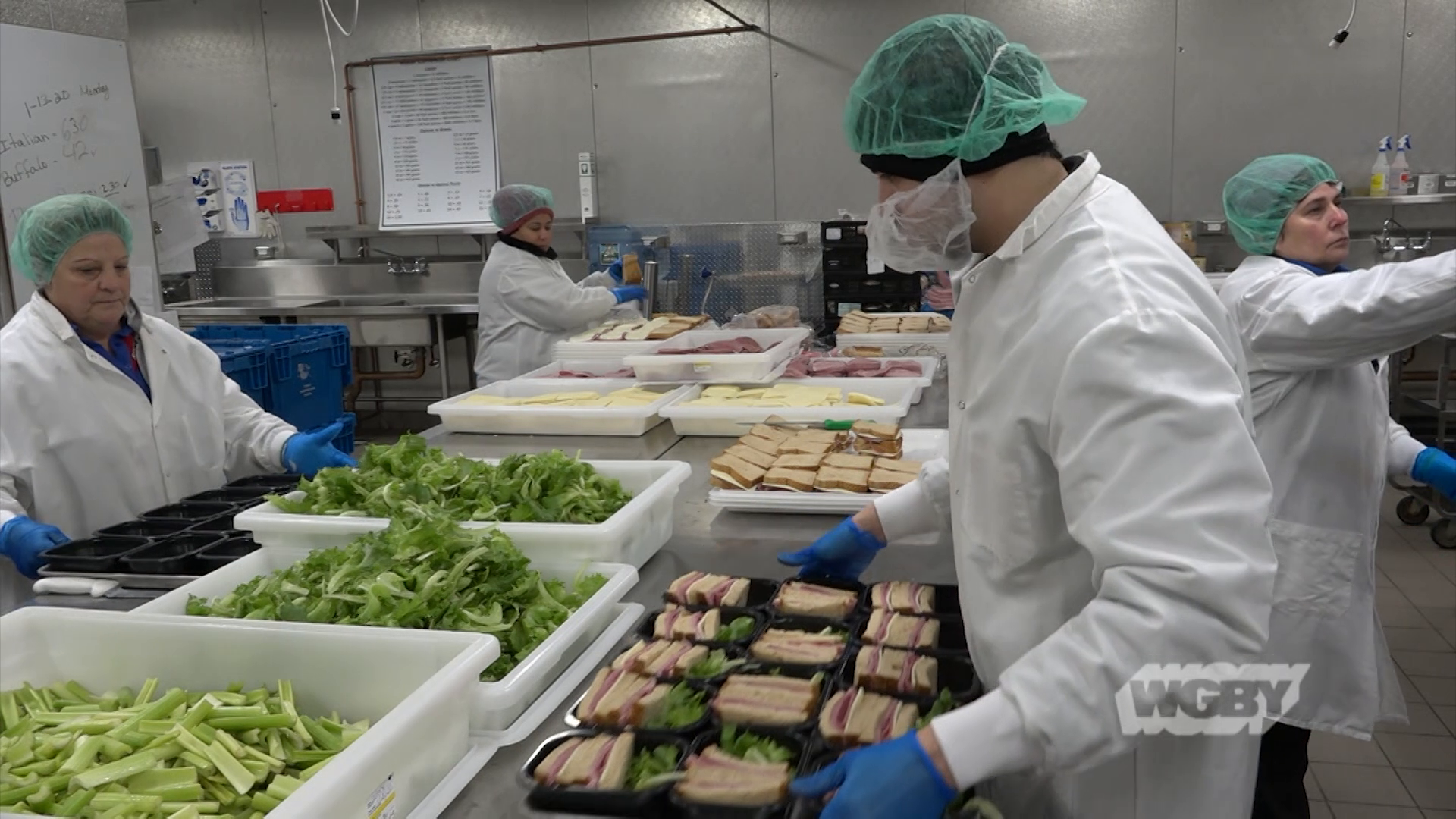 Locally Grown Lettuce in Springfield Public School Lunches