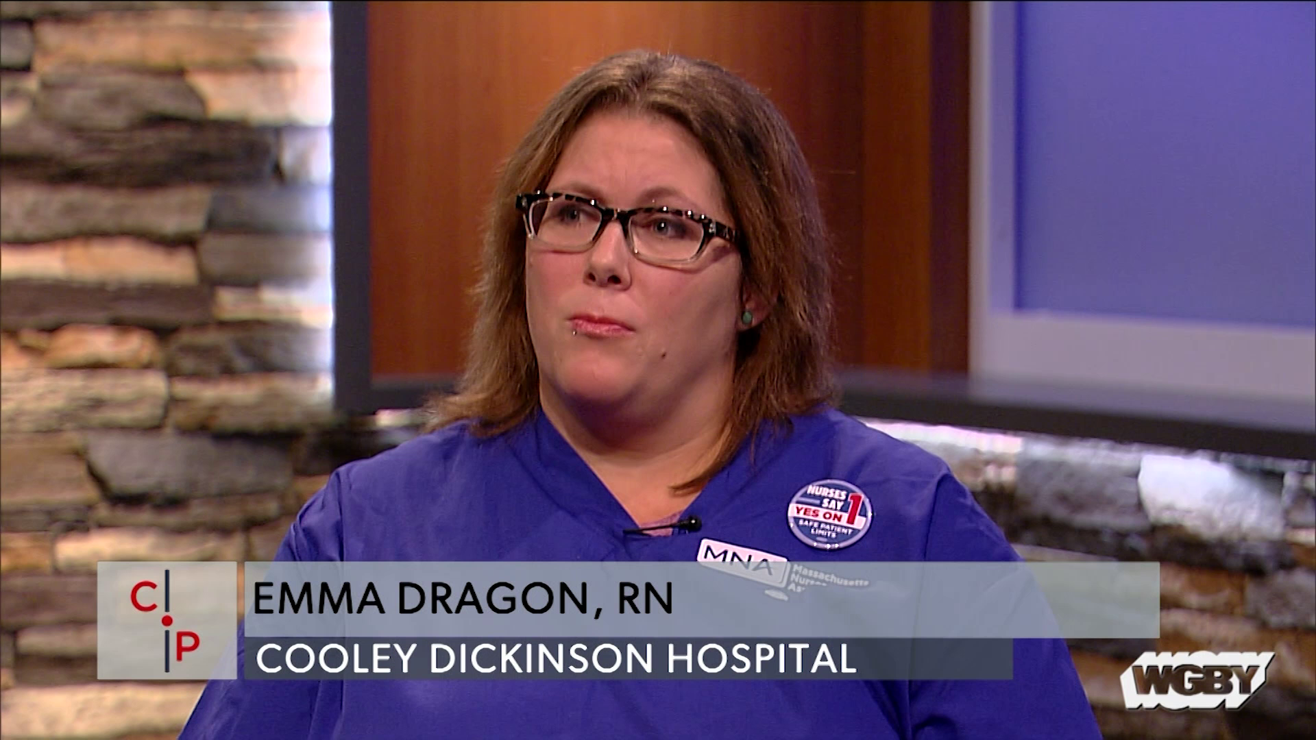 Cooley Dickinson Hospital Registered Nurse Emma Dragon explains why she supports MA Ballot Question 1, which mandates specific nurse-patient ratios.