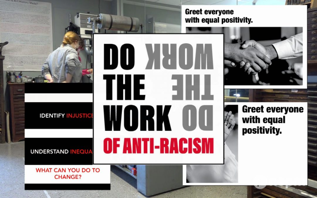 """MCLA's """"Do the Work of Anti-Racism"""" Campaign"""