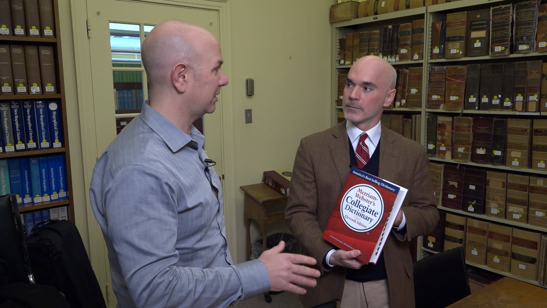 Monte Belmonte stops by Merriam-Webster Dictionary's Springfield, MA headquarters to see how politics affects our lexicon.