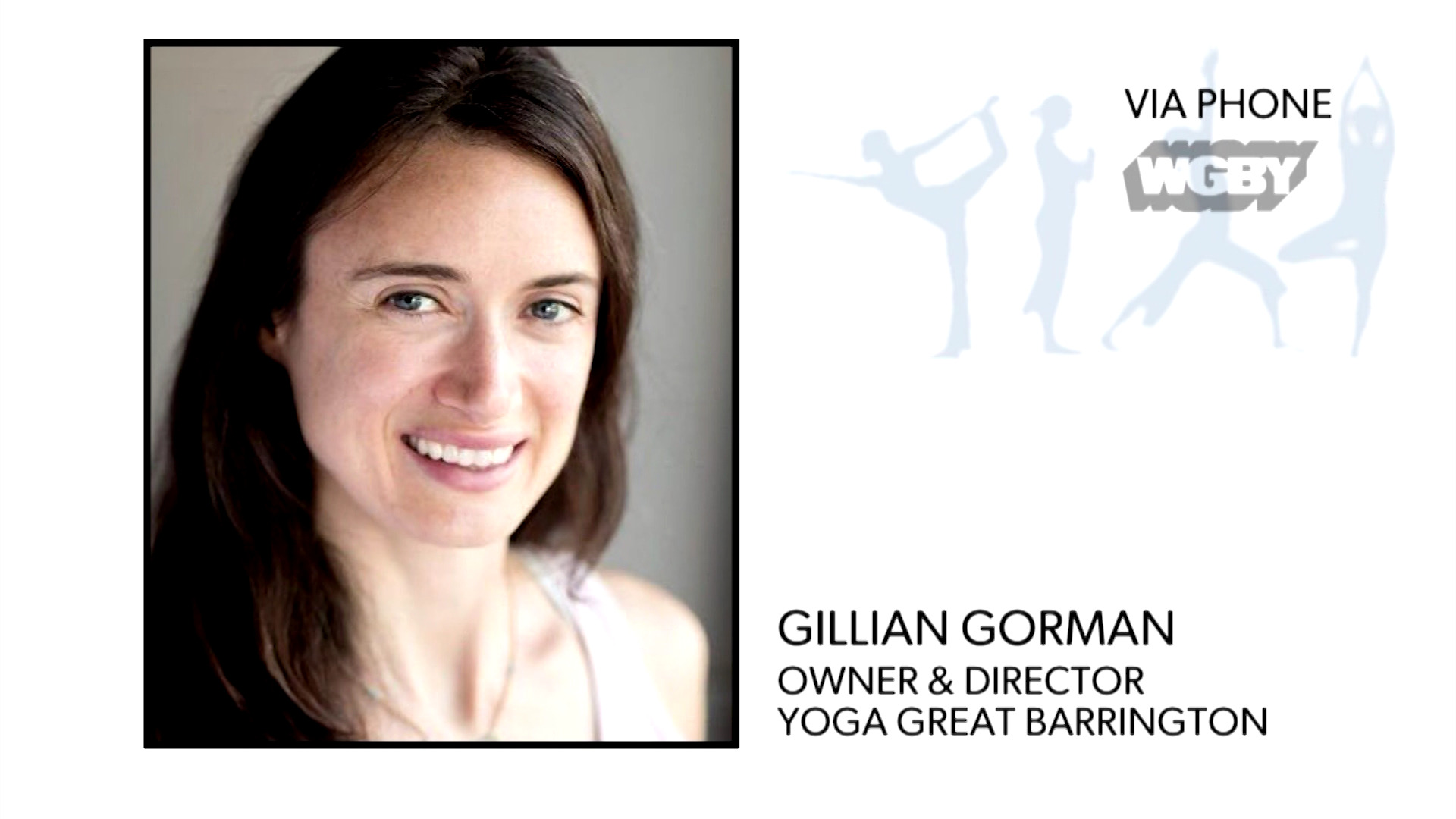 WATCH: Yoga of Great Barrington's Gillian Gorman shares some simple stress relievers and meditation methods to help you relax during this uncertain time.