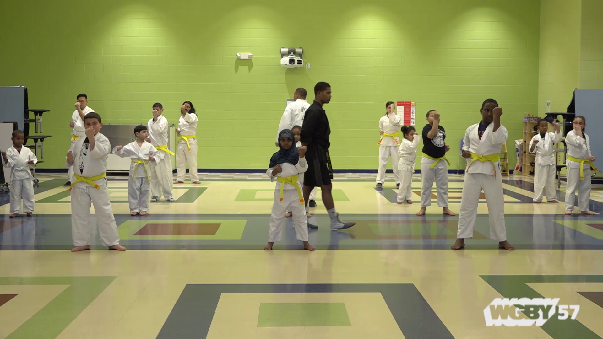 The School of the Noble Warrior is a martial arts program for kids founded in 2007 by Ahmad Sharif, a 20-year veteran of the Springfield Police Force. Concerned with the lack of positive role models for inner city kids, Sharif started the program in the basement of his Springfield, MA home.