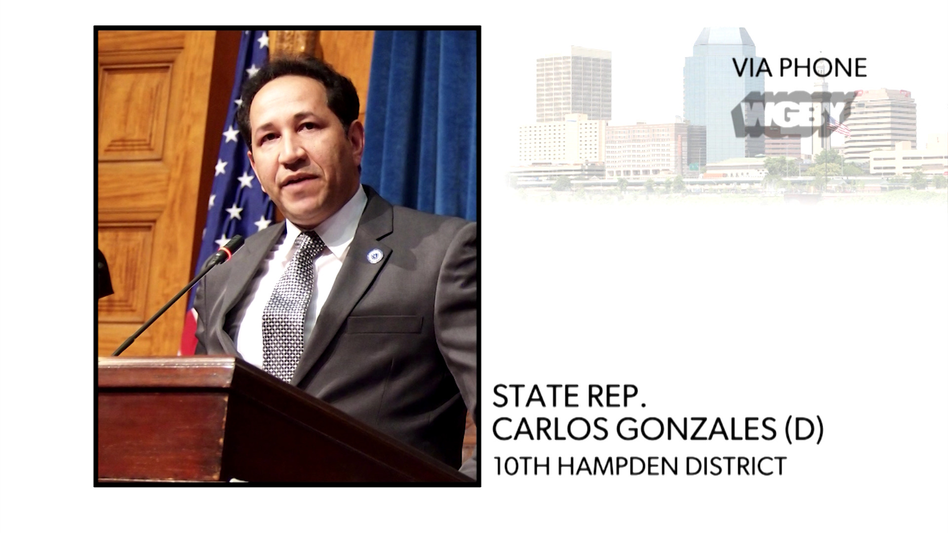 WATCH: State Rep. Carlos Gonzalez discusses why minority communities are among the hardest hit by COVID-19 and what can be done to help protect them.