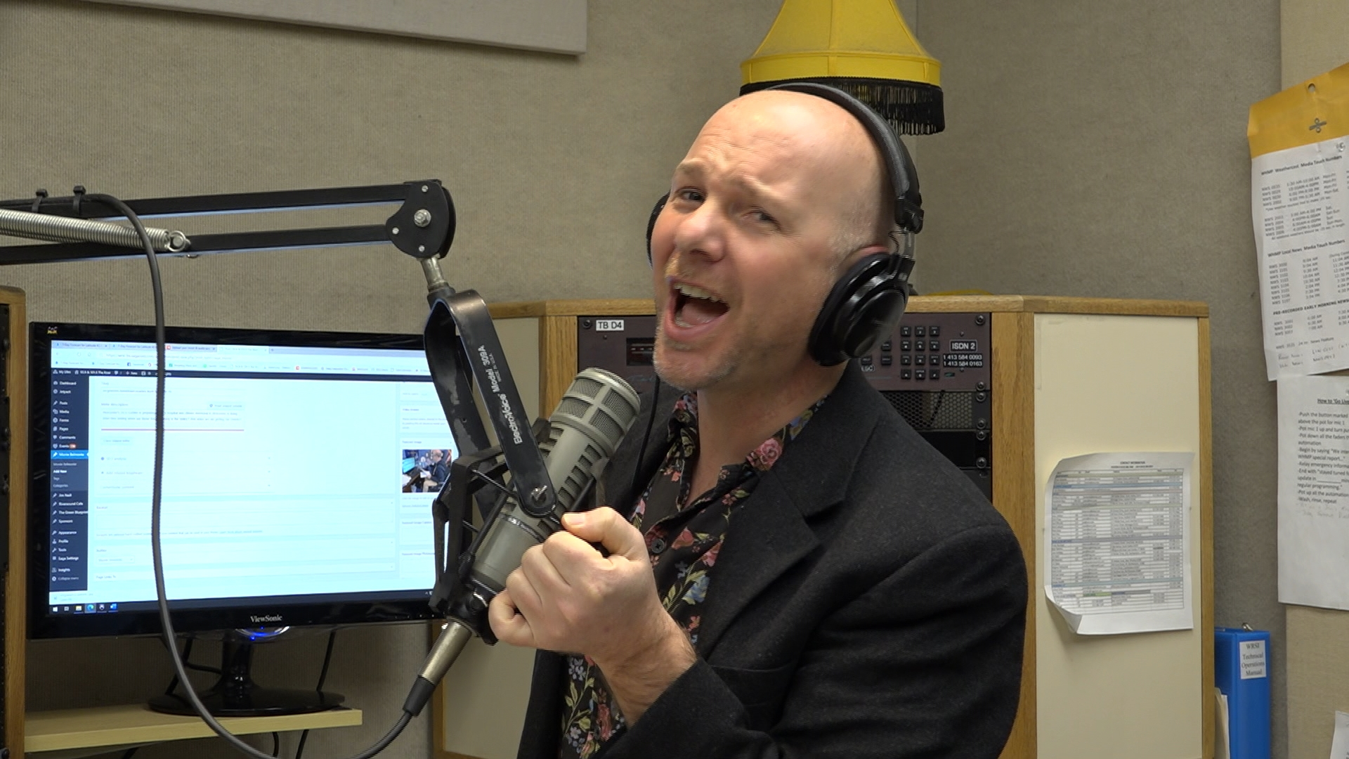 WATCH: 93.9 The River host Monte Belmonte talks about the responsibility of local media to provide information—and a little humor—in trying times.