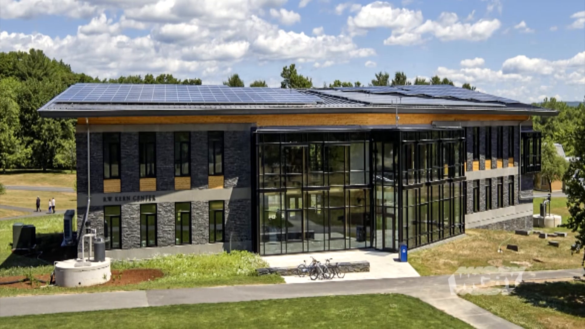 WLearn about the net-zero water system at Hampshire College's RW Kern Center, % and why the Mass. Department of Public Health has concerns about the system.