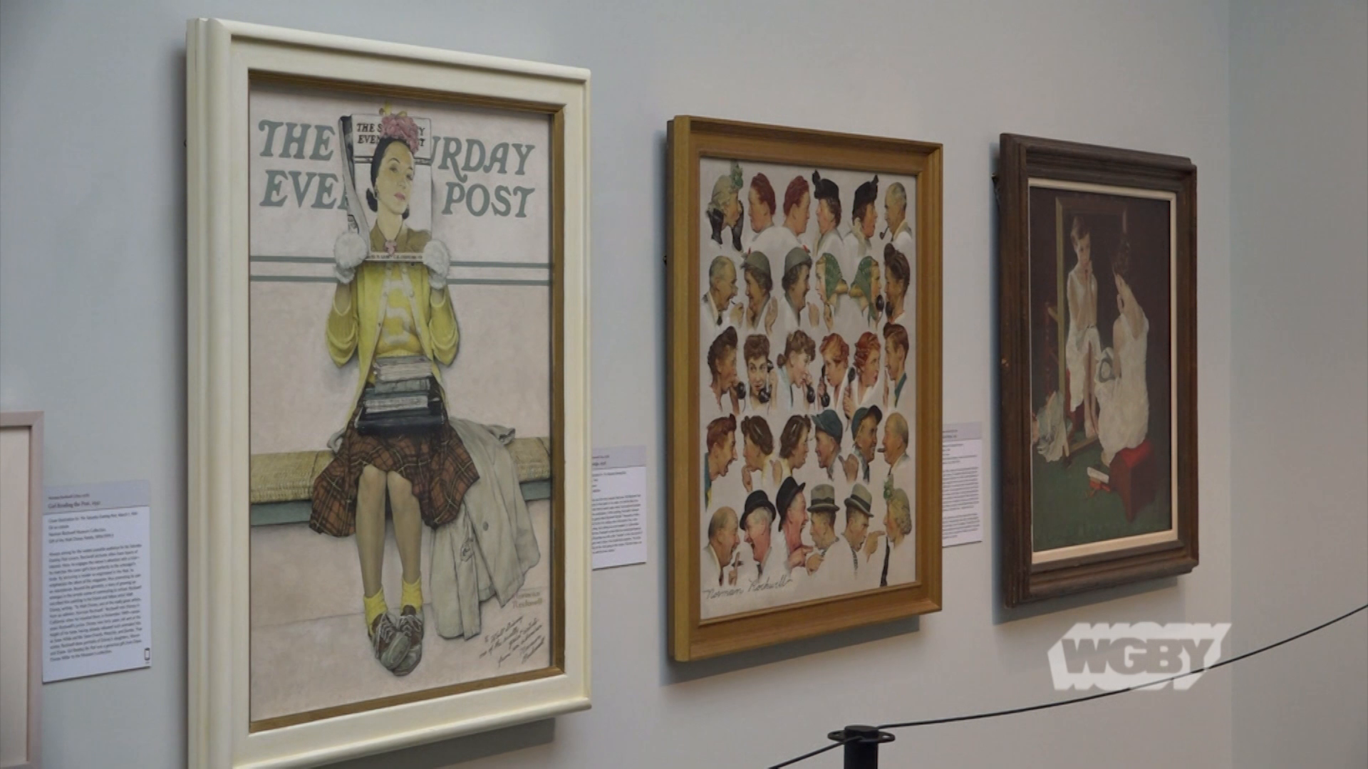 Celebrate the 50th anniversary of the Norman Rockwell Museum with a look at how the Stockbridge, MA museum highlightss the best of Rockwell's work.