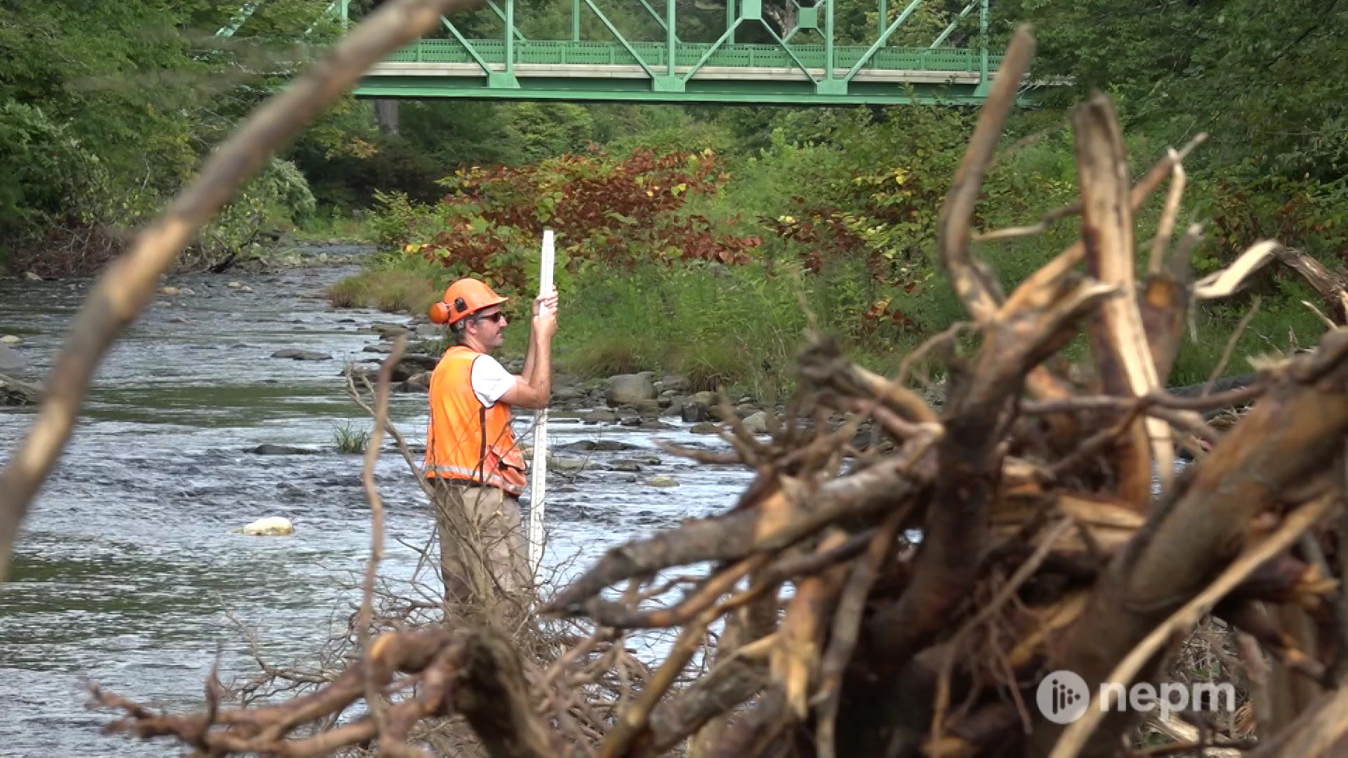 Brian Sullivan visits Colrain, where the North River is undergoing an ecosystem restoration to cleanup some of the destruction caused by Hurricane Irene.